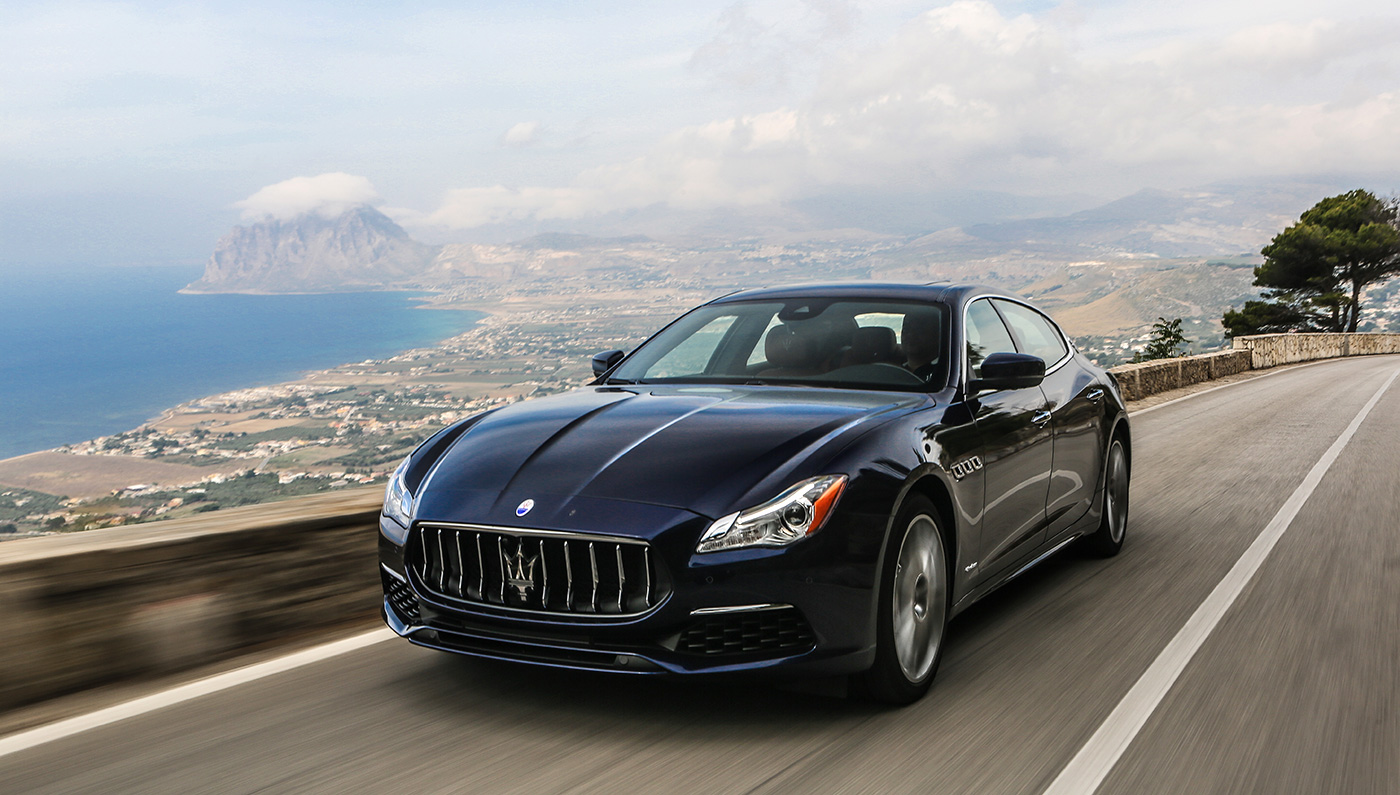 2017 maserati quattroporte gets slight facelift and new packages italia living. Black Bedroom Furniture Sets. Home Design Ideas