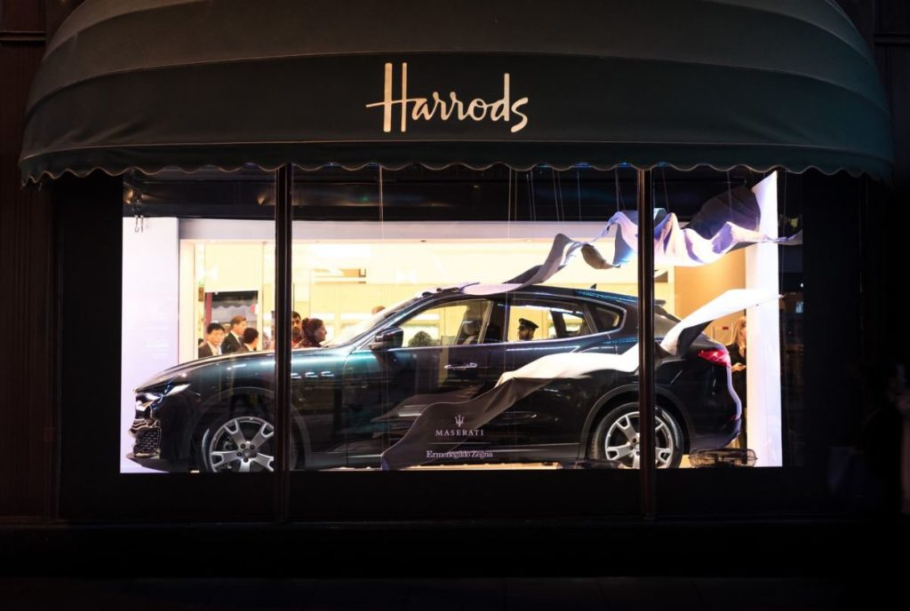 Maserati Levante Ermenegildo Zegna Harrods Collection