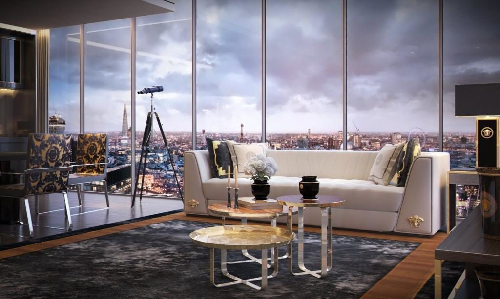 Damac to Build Versace-Branded Tower in London • Italia Living