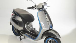 Vespa's First Electric Scooter Coming in 2018