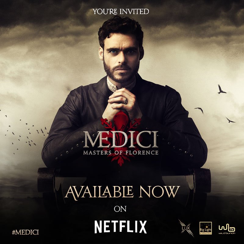 Episode 1: Medici: Masters of Florence available on Netflix ...